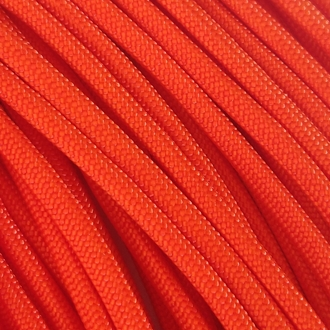 Safety Orange - 50 Foot - 550 LB Type III Paracord