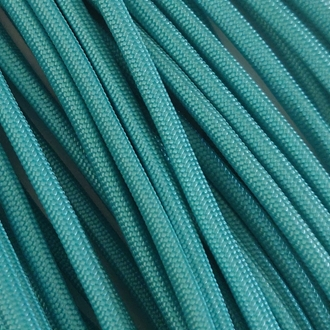 Turquoise - 50 Foot - 550 LB Type III Paracord