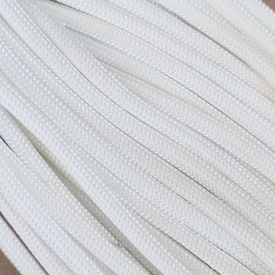 White - 25 Foot - 550 LB Type III Paracord