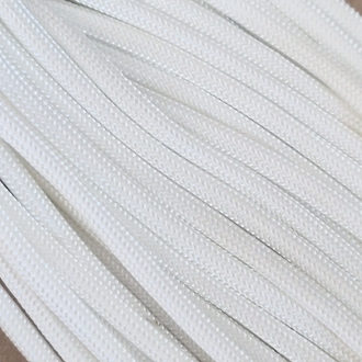 White - 50 Foot - 550 LB Type III Paracord