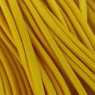 Yellow - 50 Foot - 550 LB Type III Paracord