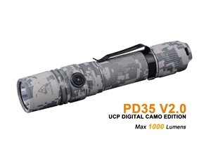 PD 35 V2.0 UCP Digital Camo Edition - Max 1,000 Lumens by Fenix™ Flashlight