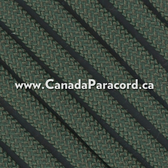 Dark Green - 25 Feet - 550 LB Paracord