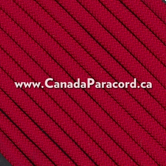 Imperial Red - 25 Feet - 550 LB Paracord