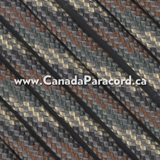 Camo - 25 Feet - 550 LB Paracord