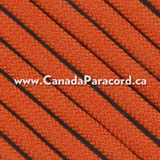 Orange - 25 Feet - 550 LB Paracord