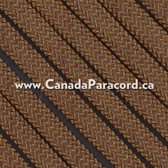 Walnut Brown - 25 Feet - 550 LB Paracord
