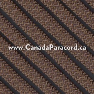 Dark Brown - 25 Feet - 550 LB Paracord