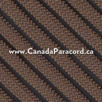 Dark Brown - 25 Feet - 550 LB Paracord