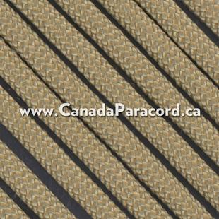 Tan #499 - 25 Feet - 550 LB Paracord