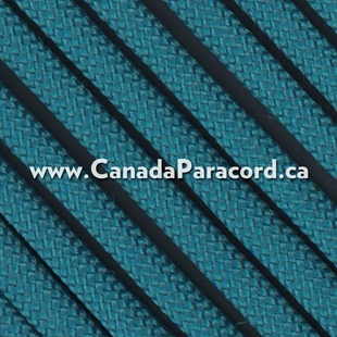Caribbean Blue - 25 Feet - 550 LB Paracord