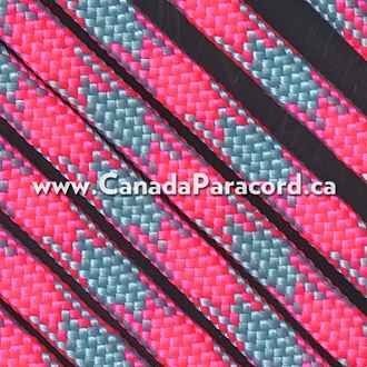 Cotton Candy- 25 Feet - 550 LB Paracord