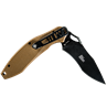 Krait Knife Spear Folder by First Tactical® - Coyote