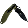 Krait Knife Spear Folder by First Tactical® - Olive Drab