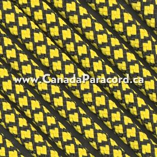 Canary Yellow Diamonds - 100 Ft - 550 LB Nylon Paracord