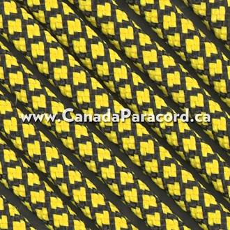 Canary Yellow Diamonds - 50 Ft - 550 LB Nylon Paracord