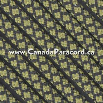 Moss Diamonds - 100 Ft - 550 LB Nylon Paracord