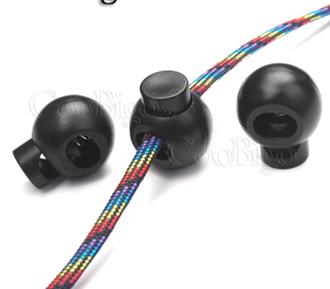 Ball Cord Lock Stopper 9.5mm x 7mm