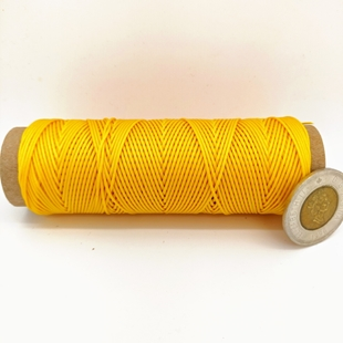 Chrome Yellow | 0.9 MM Micro Cord | 100 Feet