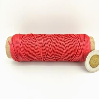 Flash Red   0.9 MM Micro Cord   100 Feet