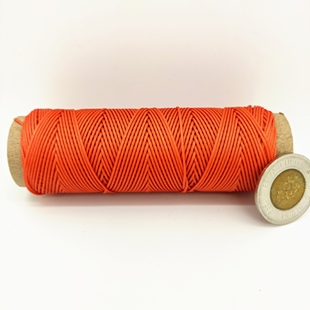 Hot Orange | 0.9 MM Micro Cord | 100 Feet