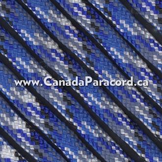 Bucky Blue - 25 Feet - 550 LB Paracord