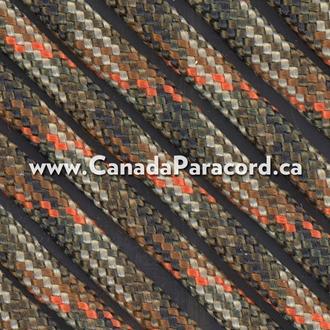 Fall Camo - 25 Feet - 550 LB Paracord