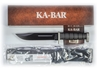 D2 Extreme Knife with Straight Edge and Plastic Sheath by KA-BAR