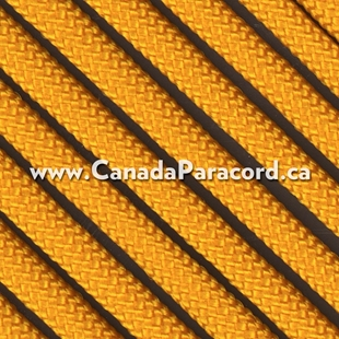 Goldenrod - 95 Paracord Type 1 Nylon - 100 Feet