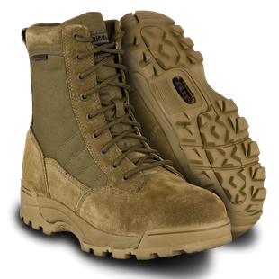 "Classic 9"" Waterproof Boots in Coyote Tan by Original S.W.A.T.®"