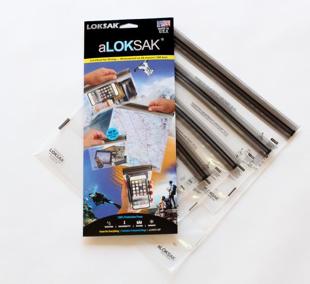 aLOKSAK 4-Pack Waterproof Bags