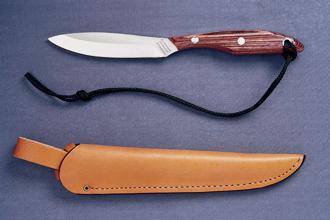 Trout & Bird Knife #2 by Grohmann