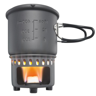 Esbit® Solid Fuel Stove with Cook set